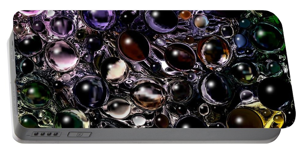 Digital Art Portable Battery Charger featuring the digital art Abstract 63016.5 by Belinda Cox