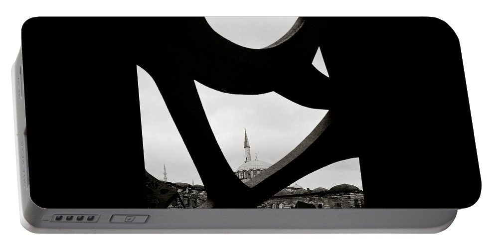 Art Portable Battery Charger featuring the photograph Abstract Art by Shaun Higson
