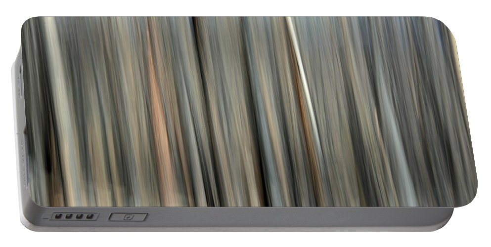 Abstract Portable Battery Charger featuring the photograph Abstract Lodgepole Pine 2 by Whispering Peaks Photography