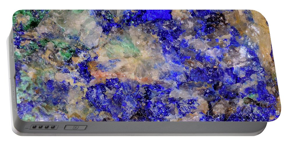 Portable Battery Charger featuring the photograph Abstract No 4 by George and Sally Stevenson