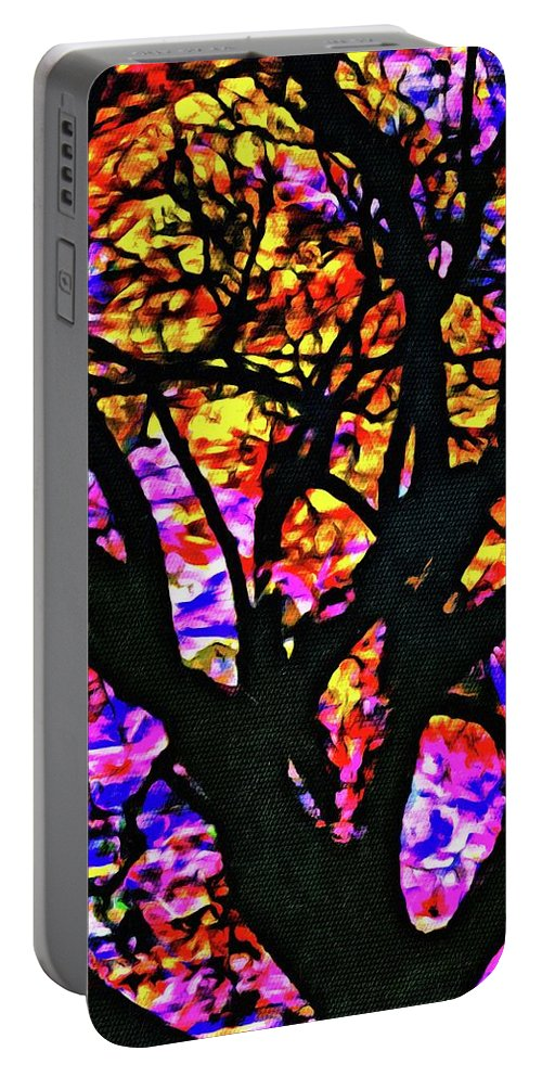 Tree Portable Battery Charger featuring the photograph Abstract Tree 304 by Kristalin Davis