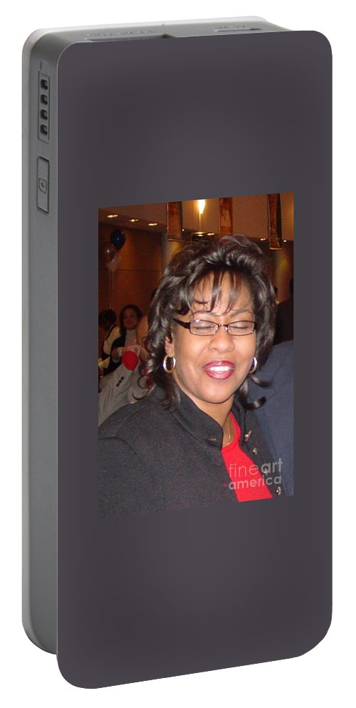 Angela Portable Battery Charger featuring the photograph Accepting Accolades For A Job Well Done by Angela L Walker