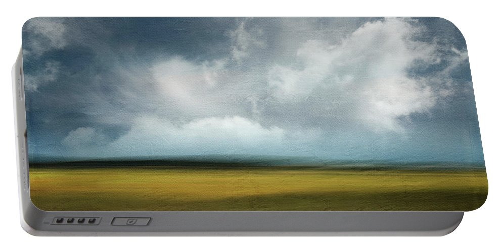 Usa Portable Battery Charger featuring the photograph Across The Marsh by John Whitmarsh