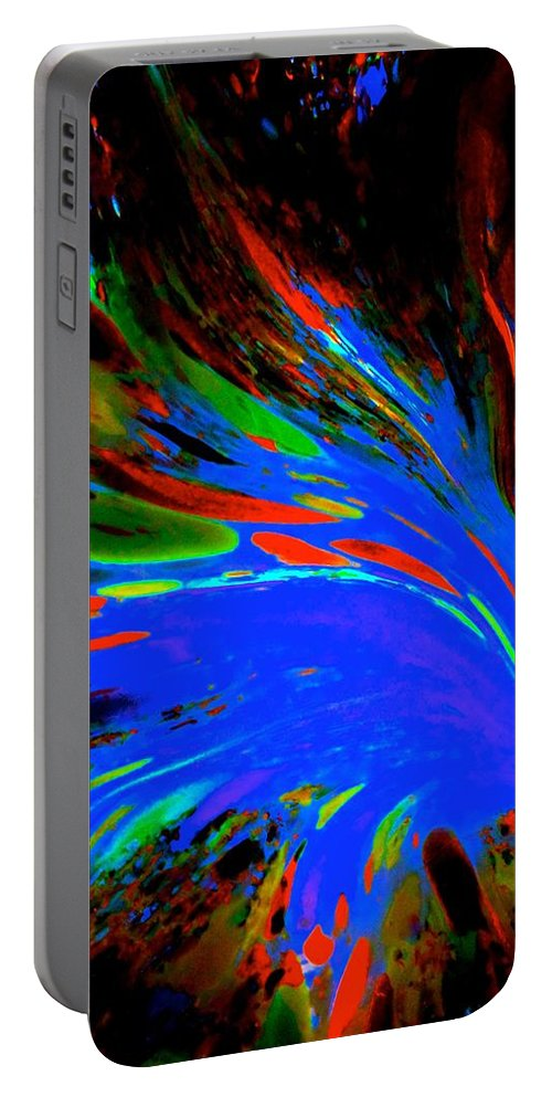 Space Portable Battery Charger featuring the photograph Across The Void by Tim G Ross