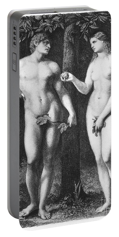 16th Century Portable Battery Charger featuring the photograph Adam & Eve by Granger