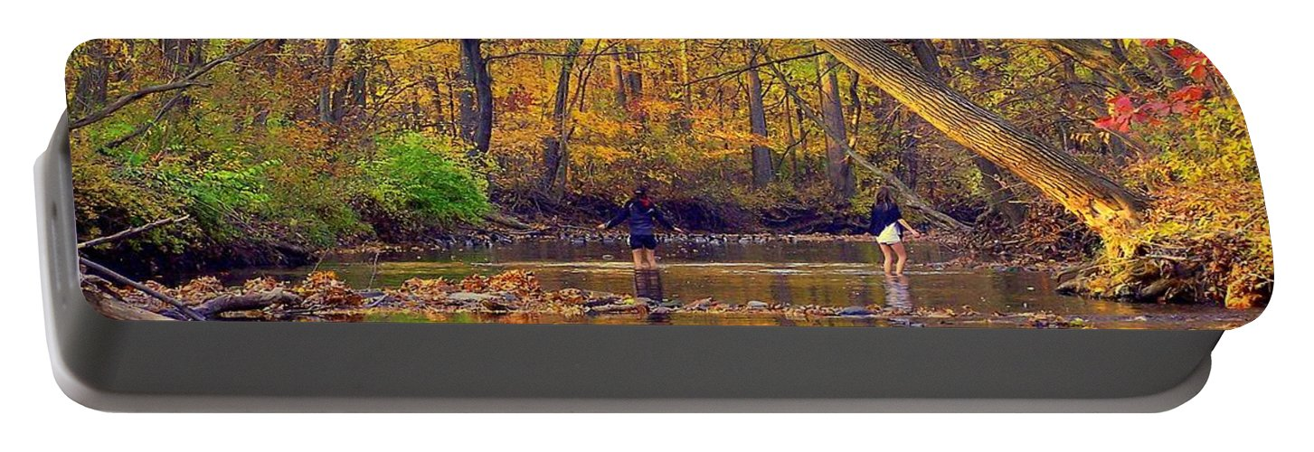 Adventure Portable Battery Charger featuring the photograph Adventure And Discovery by Frozen in Time Fine Art Photography