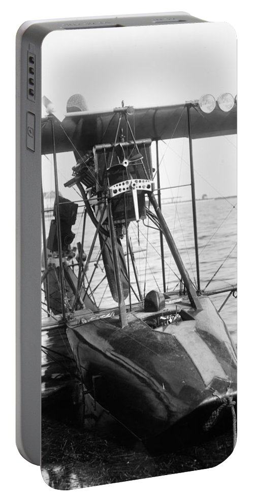1915 Portable Battery Charger featuring the photograph Aerial Torpedo, 1915 by Granger
