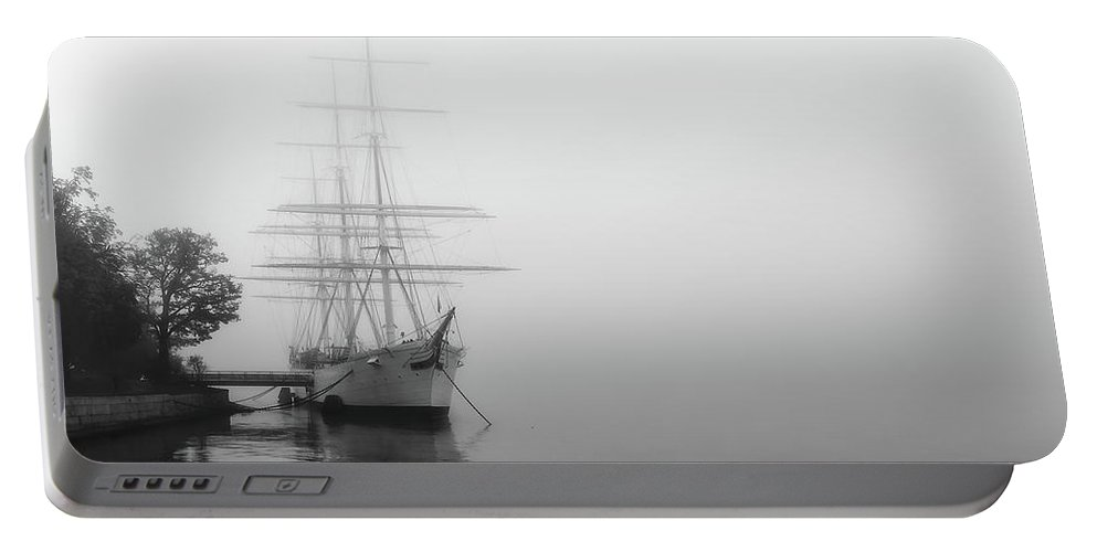 Stockholm Portable Battery Charger featuring the photograph Af Chapman Stockholm II by Mikael Jenei