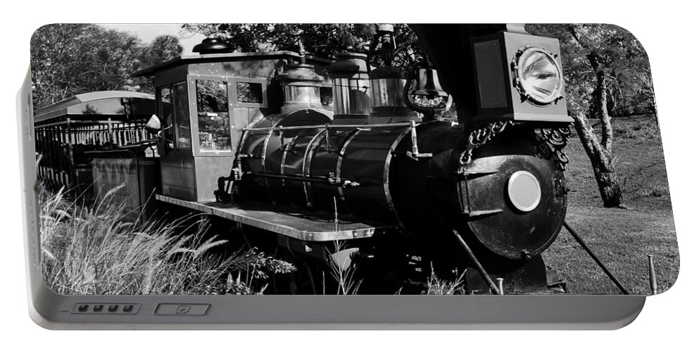 Railroad Portable Battery Charger featuring the photograph African Rail by David Lee Thompson