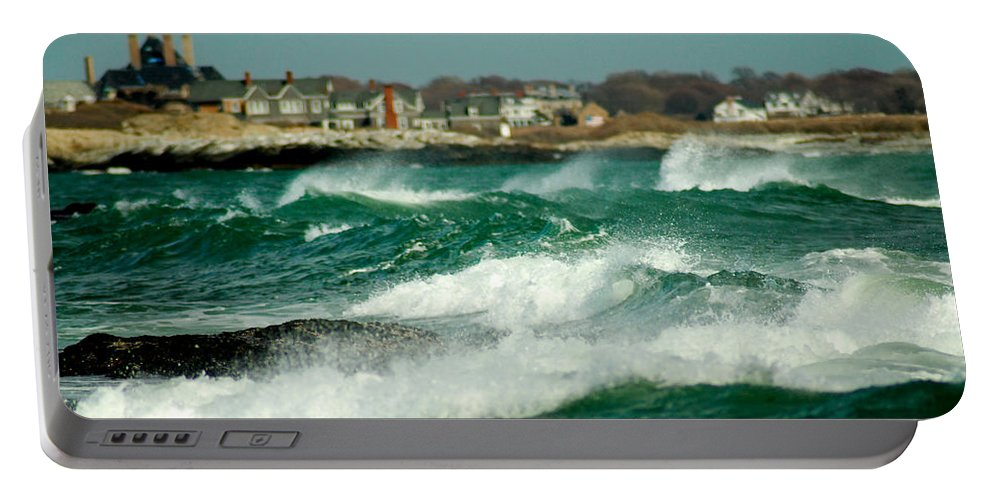 Rhode Island Portable Battery Charger featuring the photograph After The Storm by Greg Fortier
