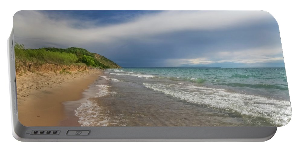 Storm Portable Battery Charger featuring the photograph After The Storm by Heather Kenward