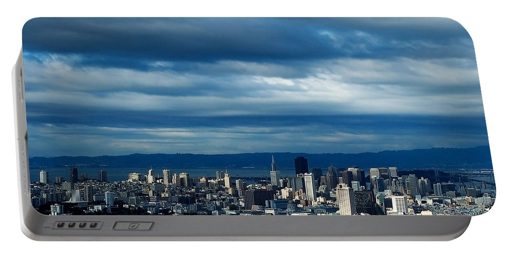Storm Portable Battery Charger featuring the photograph After The Storm by Mick Burkey
