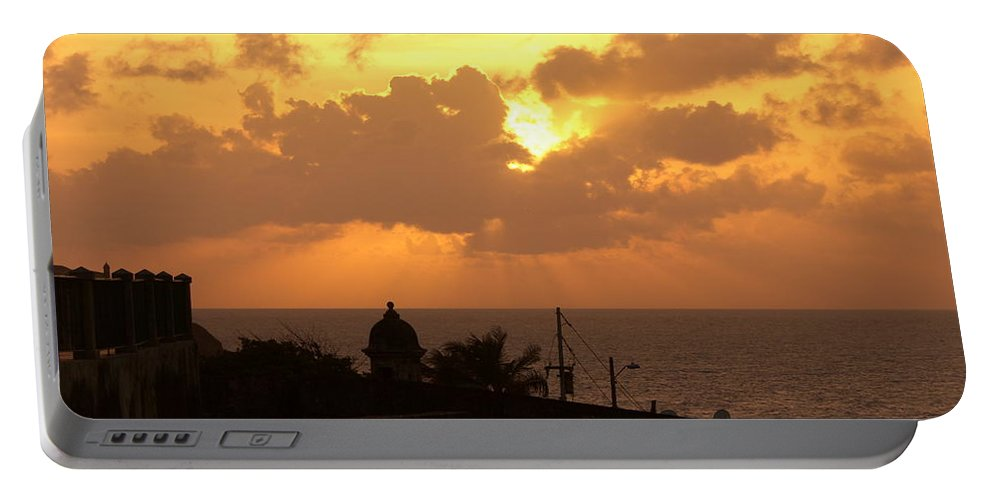 Sky Portable Battery Charger featuring the photograph Afternoon by Are Lund