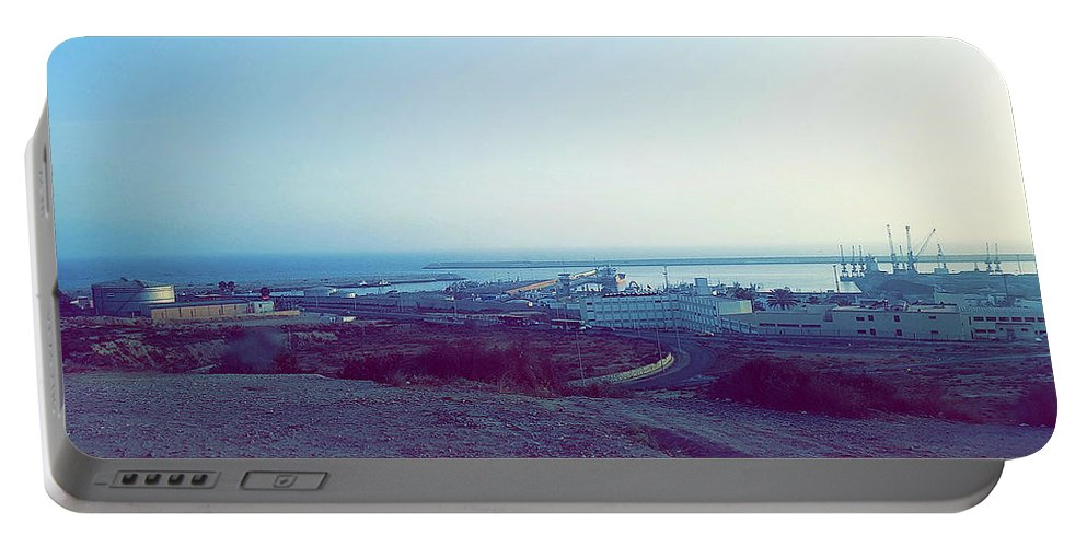 Nature Portable Battery Charger featuring the photograph Agadir Nature by Hassan Boumhi