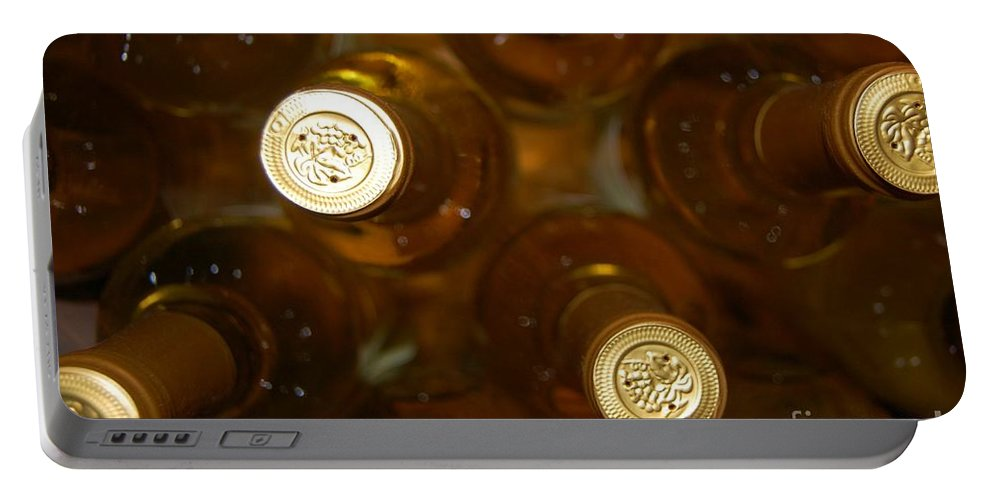 Wine Portable Battery Charger featuring the photograph Aged Well by Debbi Granruth