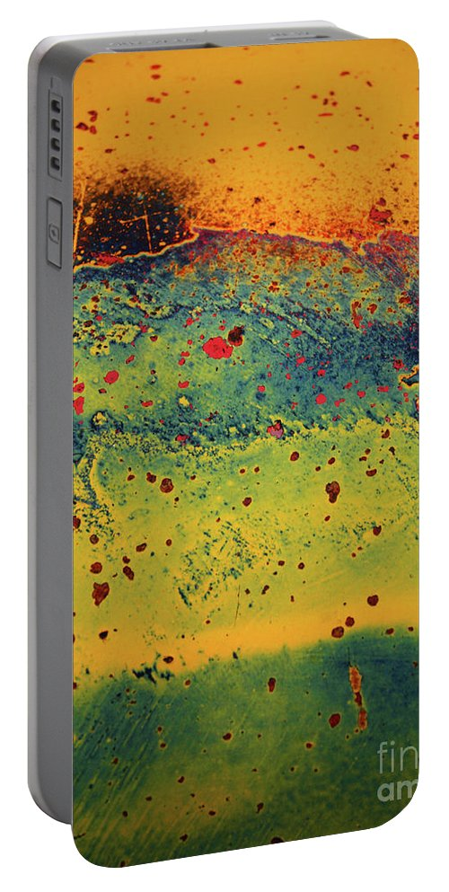 Urban Portable Battery Charger featuring the photograph Aging In Colour 2 by Tara Turner