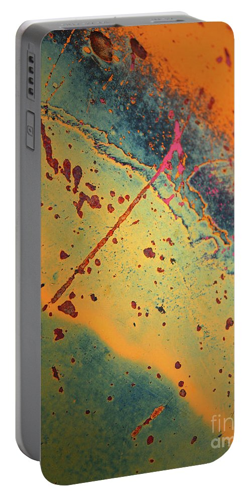 Urban Portable Battery Charger featuring the photograph Aging In Colour 3 by Tara Turner
