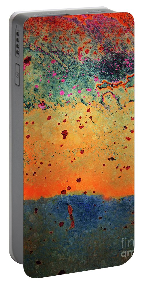 Urban Portable Battery Charger featuring the photograph Aging In Colour by Tara Turner
