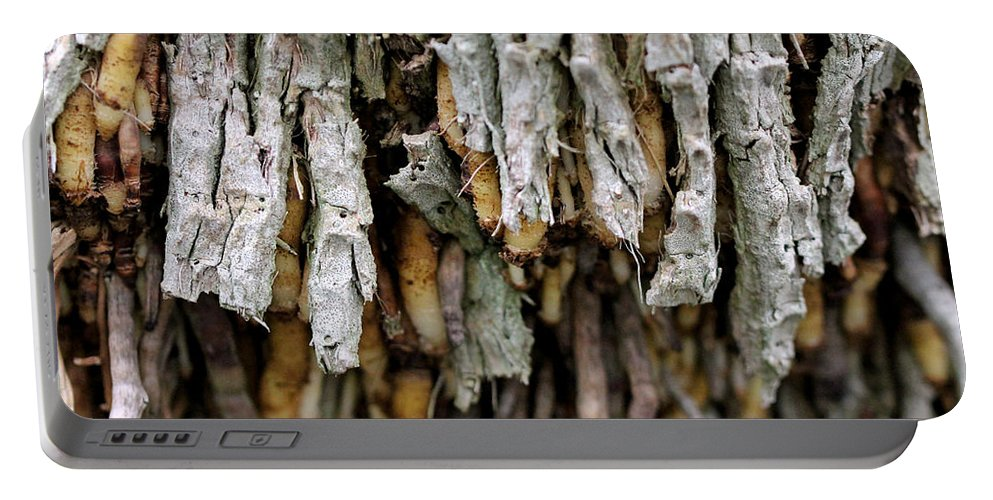 Roots Portable Battery Charger featuring the photograph Air Roots by Mother Nature