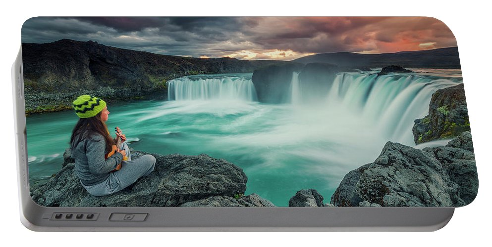 20-24 Years Portable Battery Charger featuring the photograph Alca000001 by Carlos M Almagro