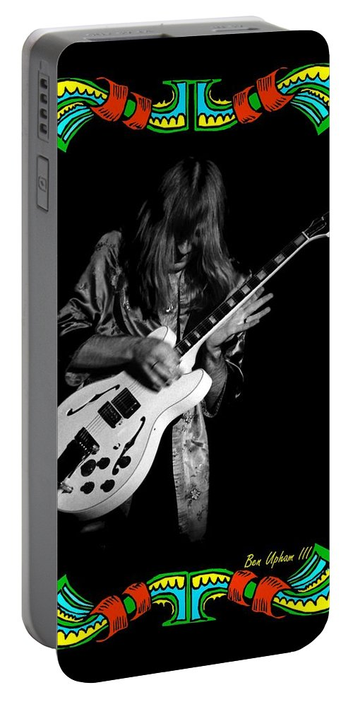 Rock Art Portable Battery Charger featuring the photograph Frame #6 In Frame #2 by Ben Upham