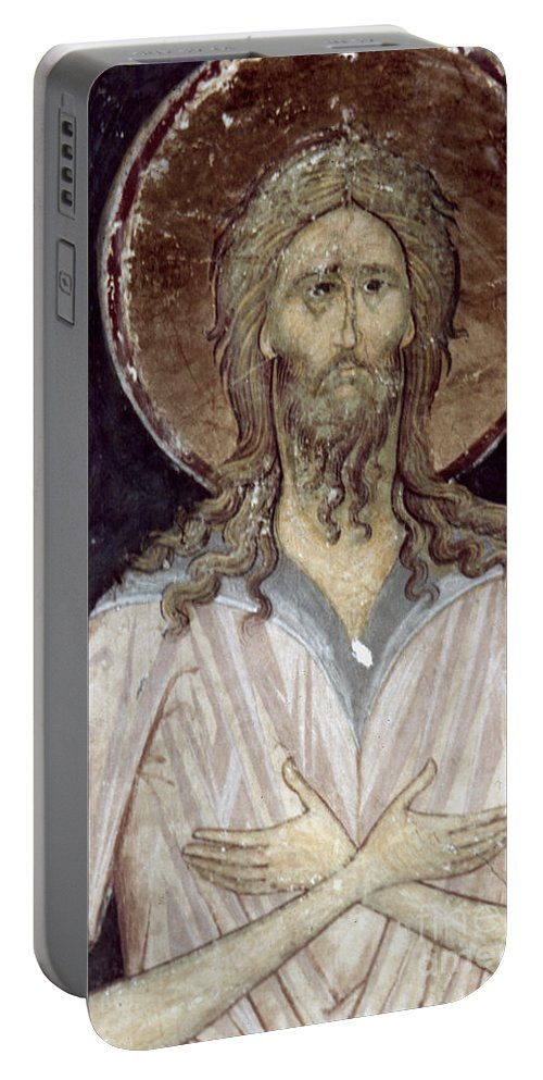 15th Century Portable Battery Charger featuring the photograph Alexis The Gods Man by Granger