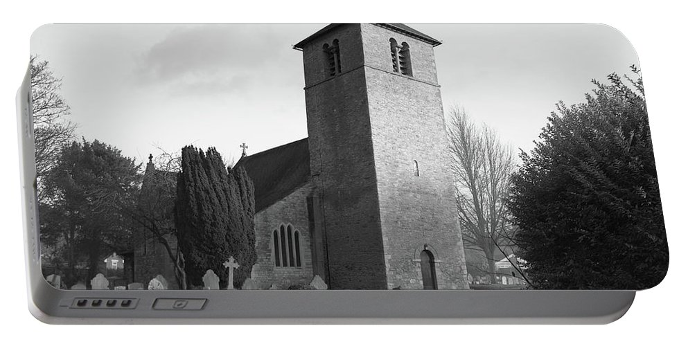 All Portable Battery Charger featuring the photograph All Saints Church, Bracebridge, Lincoln - 1.61 1 by Russ Bevis
