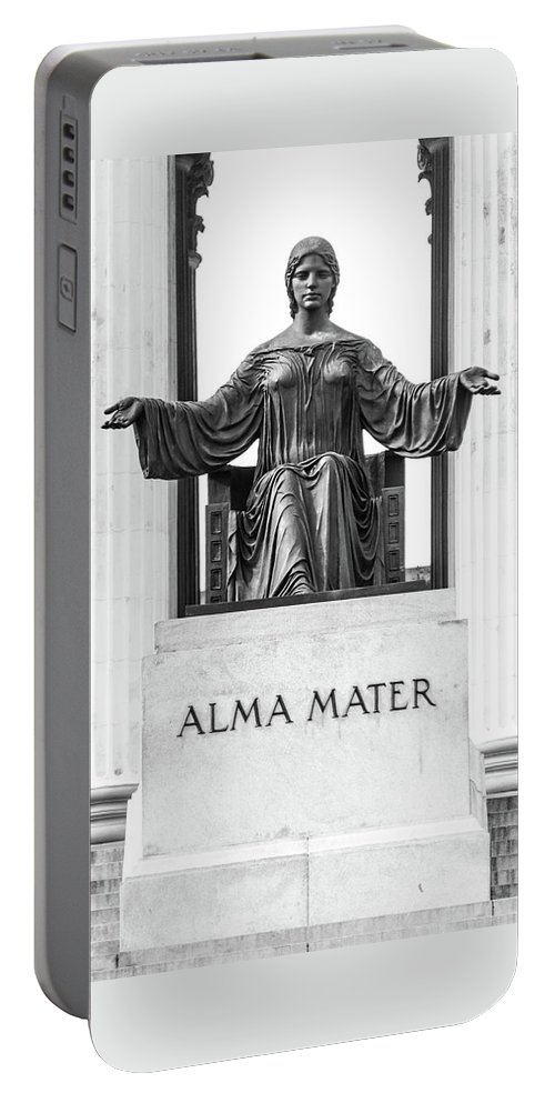 Cuba Portable Battery Charger featuring the photograph Alma Mater by Clifford Beck
