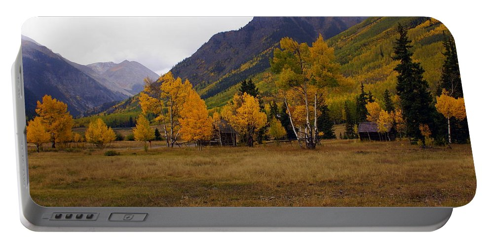 Portable Battery Charger featuring the photograph Along The Alpine Loop 2 by Marty Koch