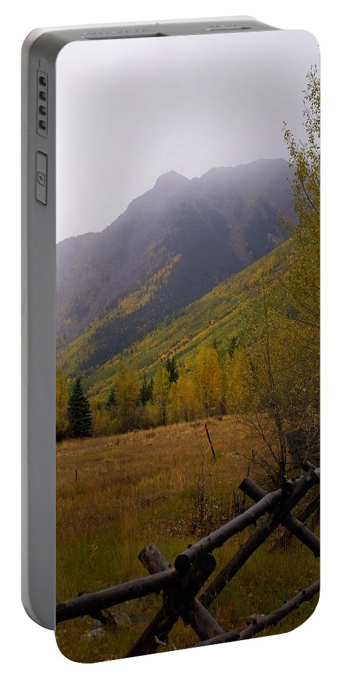 Colorado Portable Battery Charger featuring the photograph Along The Alpine Loop by Marty Koch