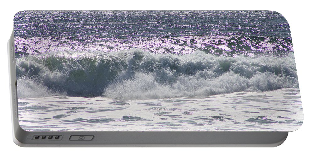 Pacific Ocean Portable Battery Charger featuring the photograph Along The Costal Highway by Tommy Anderson