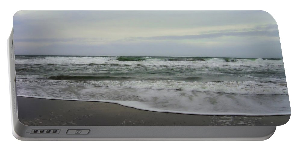 San Francisco Beach Portable Battery Charger featuring the photograph Along The Great Highway by Donna Blackhall