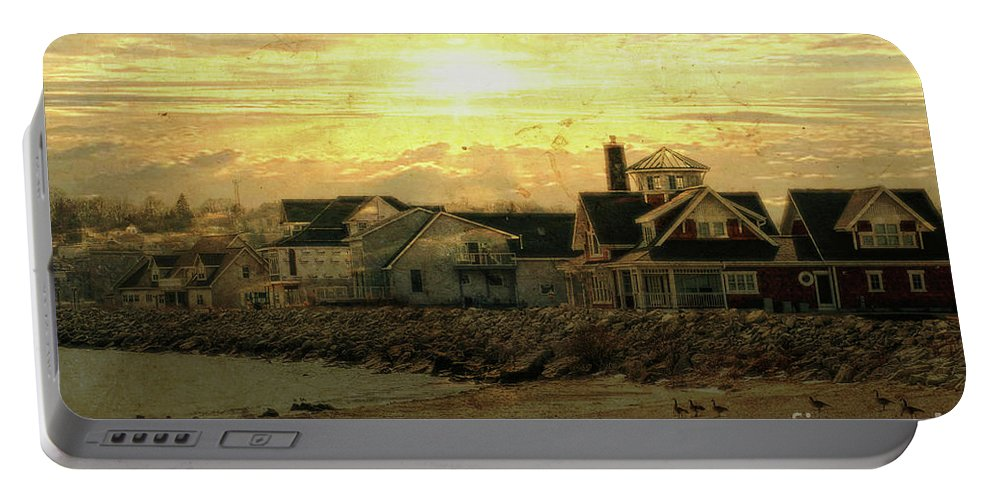 Shore Portable Battery Charger featuring the photograph Along The Shores by Joel Witmeyer