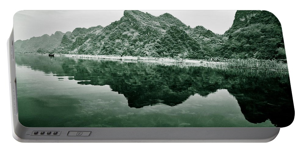 Yen Portable Battery Charger featuring the photograph Along The Yen River by Dave Bowman