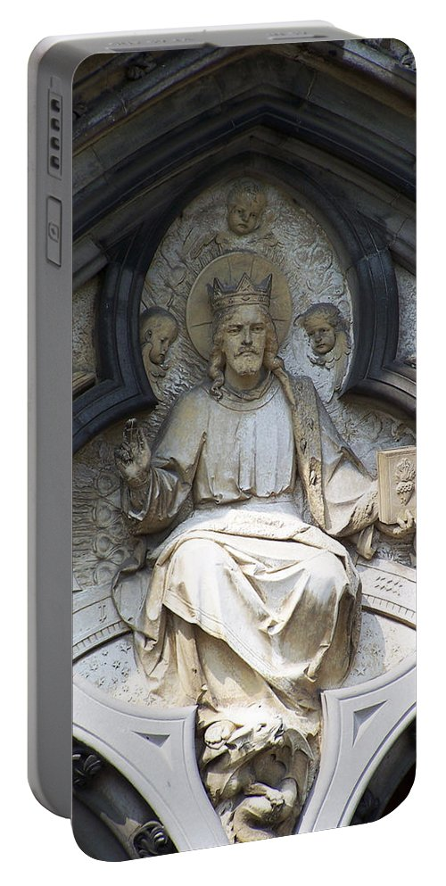 Ireland Portable Battery Charger featuring the photograph Alpha And Omega by Teresa Mucha