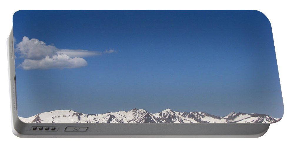 Mountains Portable Battery Charger featuring the photograph Alpine Tundra Series by Amanda Barcon