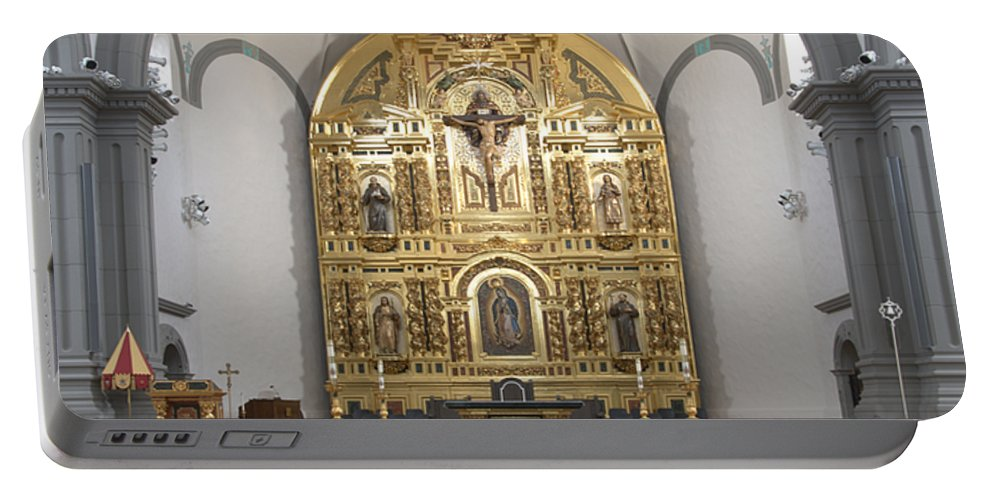 Architecture Portable Battery Charger featuring the photograph Alter San Juan Capistrano by Bob Christopher