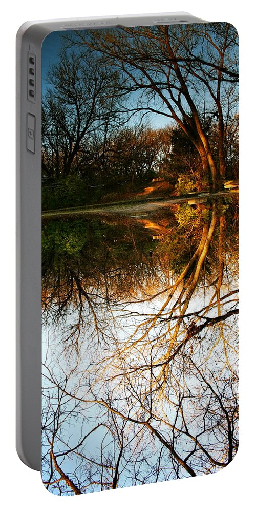Landscape Portable Battery Charger featuring the photograph Alternate Reality by Abby Herberger