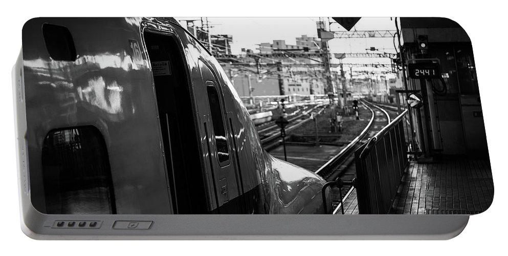 Japan Portable Battery Charger featuring the photograph Always Ready To Go by Sam Garcia