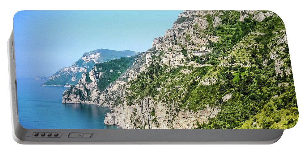 Isle Of Capri Portable Battery Charger featuring the photograph Amalfi Splendor by Lisa Kilby