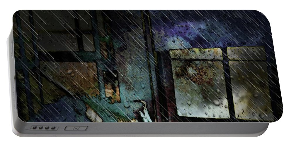 Interior Design Art Portable Battery Charger featuring the digital art Ambivalence by Robert Grubbs