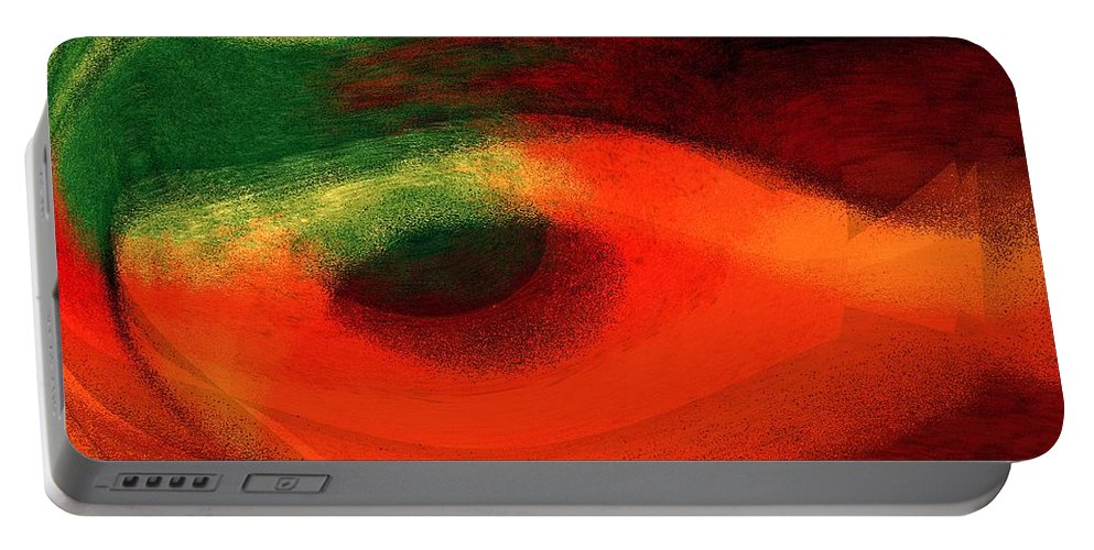 Color Portable Battery Charger featuring the digital art Ambrelia by Max Steinwald