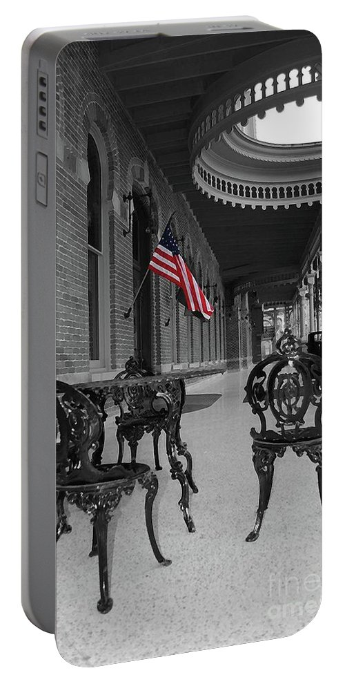 University Portable Battery Charger featuring the photograph American Past by Jost Houk