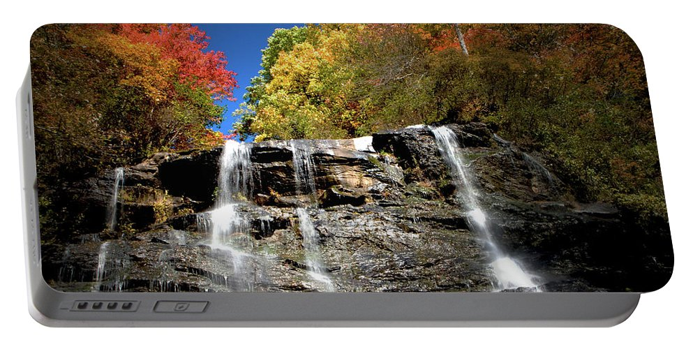Amicalola Portable Battery Charger featuring the photograph Amicalola Falls by Dick Goodman