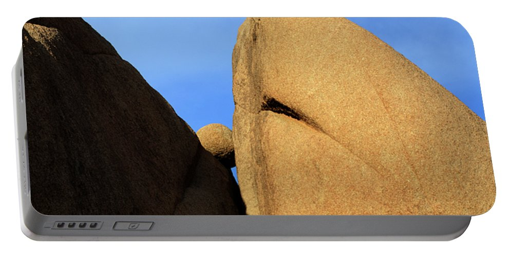 Joshua Tree National Park Portable Battery Charger featuring the photograph Amongst Giants by Bob Christopher