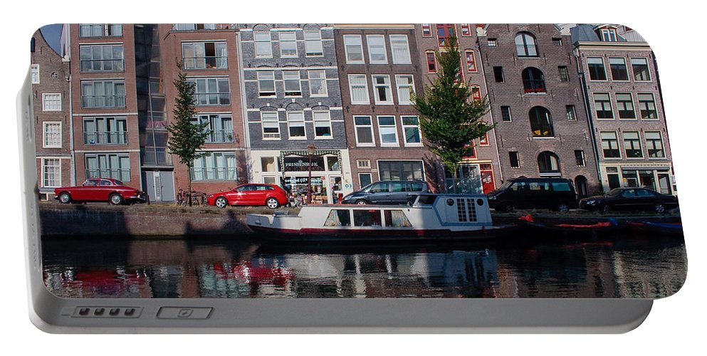 Amsterdam Portable Battery Charger featuring the photograph Amsterdam Canal by Thomas Marchessault