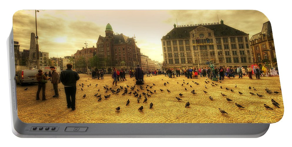 Amsterdam Portable Battery Charger featuring the photograph Amsterdam City by Svetlana Sewell