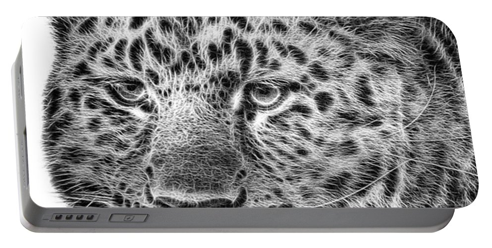 Snowleopard Portable Battery Charger featuring the photograph Amur Leopard by John Edwards