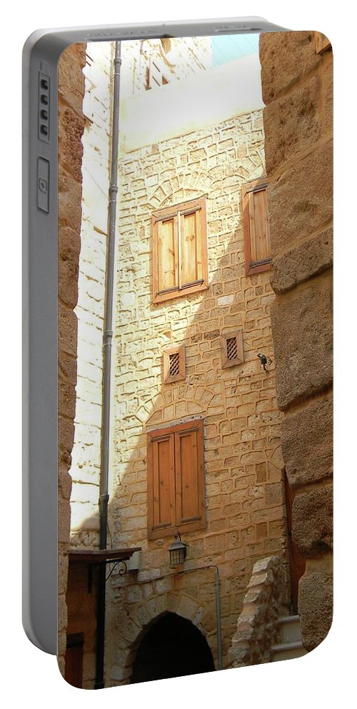 In Art Portable Battery Charger featuring the photograph Ancestral Home by Marwan George Khoury