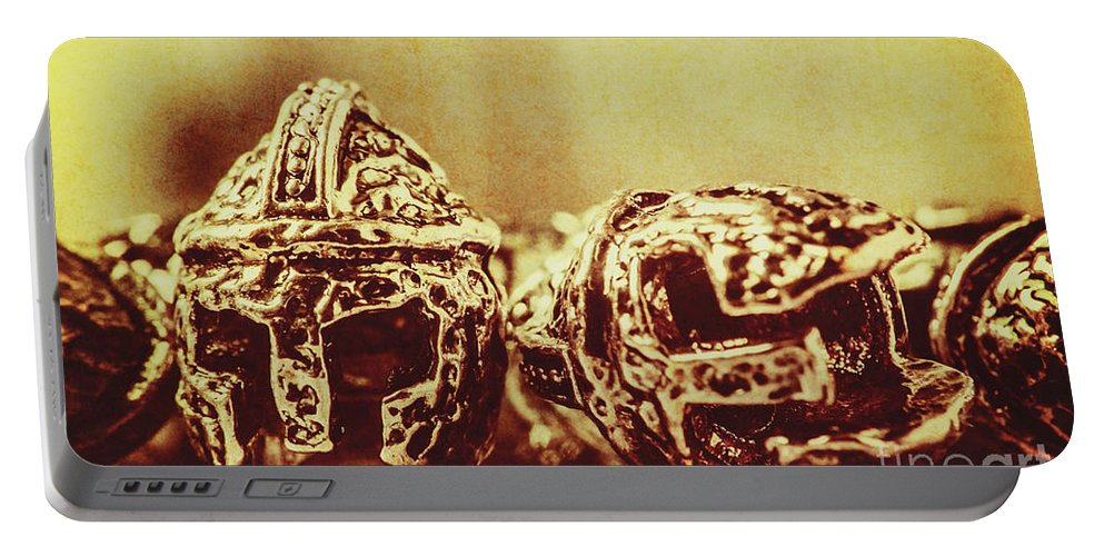 Spartan Portable Battery Charger featuring the photograph Ancient History by Jorgo Photography - Wall Art Gallery
